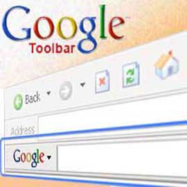 Goole toolbar
